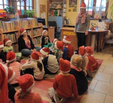 Mikołajkowe zajęcia w bibliotece – 03.12.2019