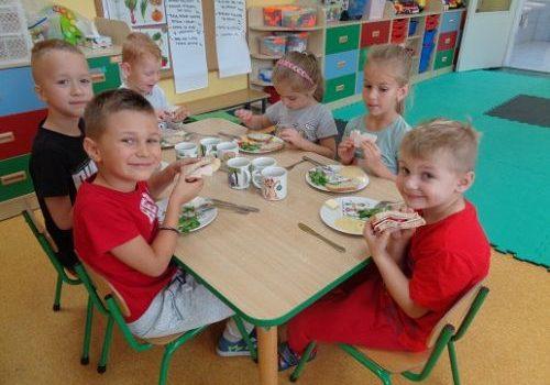 C.d. Projekt edukacyjny – WARZYWA – Robimy kanapki i sok!