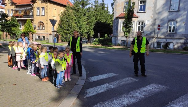 Spotkanie z przedstawicielami straży miejskiej