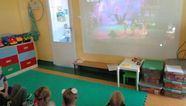 Teatr, kino… w przedszkolu!